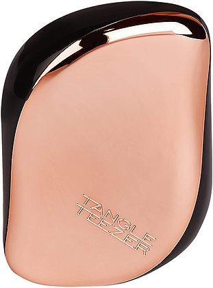 Tangle Teezer Compact Styler, Detangling Hairbrush (Black Rose Gold)