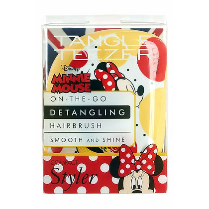 Tangle Teezer Com Styler-Minnie Mouse Sunshine Yellow