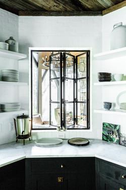 Accordion Steel Framed Window