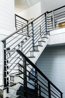 Custom Steel Staircase Railing