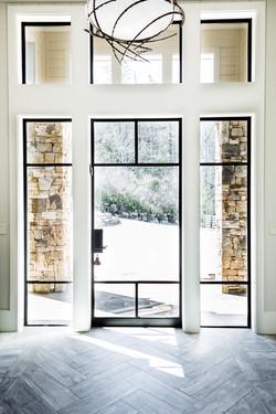 Steel & Glass Entry Door