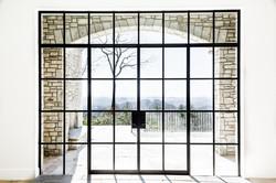 Steel Framed Glass Door