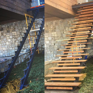 A few progress photos of good things to come!_#elitemetalworksinc #asheville #avl #cashiers #highlands #wnc #ashevilledesign #ashevilleinter