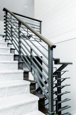Custom Interior Steel Handrails