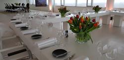 Project Pharos Hoofddorp, Ontvangst & diner stakeholders