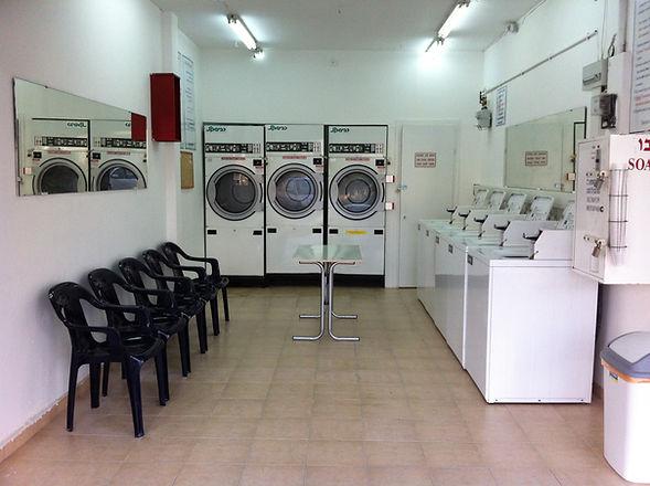 מפוארת מכבסה בתל אביב | רשת מכבסות בשרות עצמי BE-88