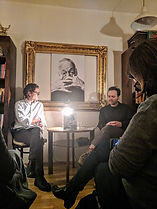 Stefan-Schloegl-Chris-Mavric-Buchcafe-Me