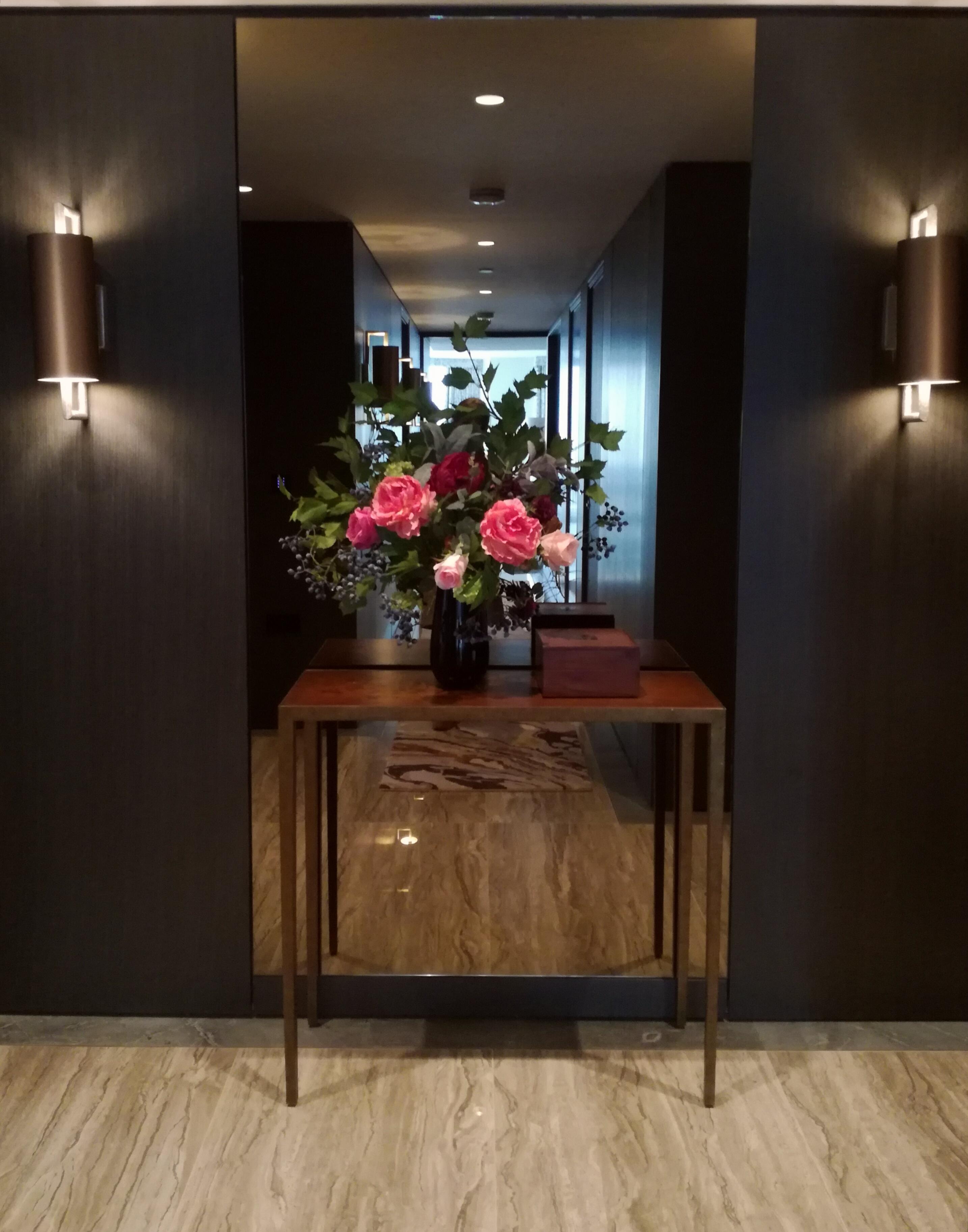 Hall flowers. Blackfriars