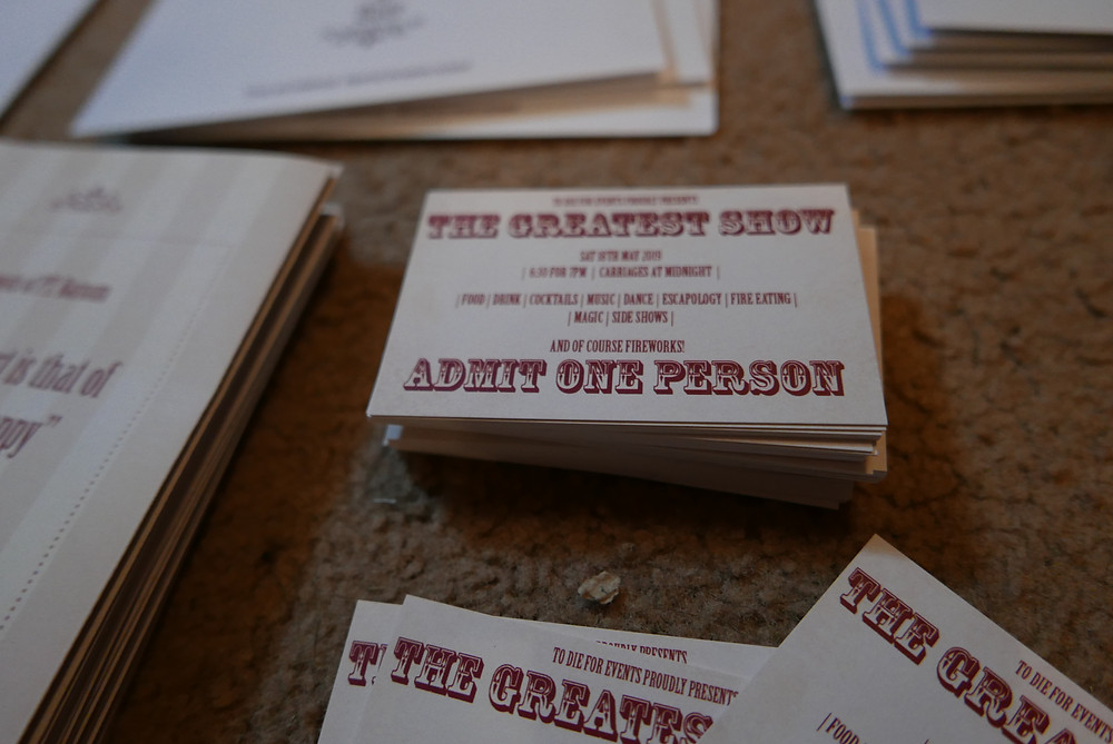 """The Greatest Show"" tickets"