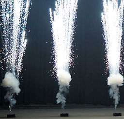 """Stage """"Fountain"""" pyrotechnics"""