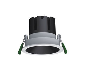▪ Performance downlight ▪ 9W light engine (700 lumens) ▪ 15W light engine (1250 lumens) ▪ 2700K, 3000K or 4000K  ▪ Optic 15°, 24°, 38°, 55° ▪ White or Black finish ▪ Dark light baffle ▪ 85mm Ø Bezel, 75mm Ø cut out out ▪ CRI90 light engines ▪ Global Optical Control enabling 26% more light output ▪ Glare control ▪ IP20 ▪ LED lifetime @ 50,000 hours ▪ High efficiency ▪ Low power consumption ▪ No UV or IR ▪ Compatible with fixed output, mains dimming and DALI dimming systems