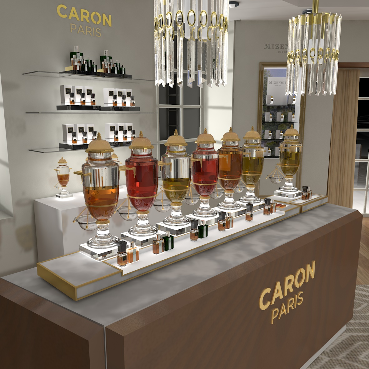 Caron section