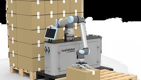 Ambalare și paletizare cu brațe de roboți colaborativi