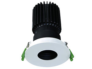 ▪ Performance downlight ▪ 9W light engine (700 lumens) ▪ 15W light engine (1250 lumens) ▪ Pin Hole aperture narrow or wide ▪ Fixed and Adjustable 23° ▪ 2700K, 3000K or 4000K  ▪ Optic 15°, 24°, 38°, 55° ▪ White or Black finish ▪ 88mm Ø Bezel, 75mm Ø cut out out ▪ CRI90 light engines ▪ Global Optical Control enabling 26% more light output ▪ Glare control ▪ IP20 ▪ LED lifetime @ 50,000 hours ▪ High efficiency ▪ Low power consumption ▪ No UV or IR ▪ Compatible with fixed output, mains dimming and DALI dimming systems