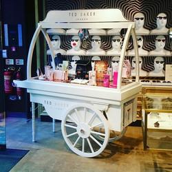 Ted Baker cart #retaildesign #tedbaker #