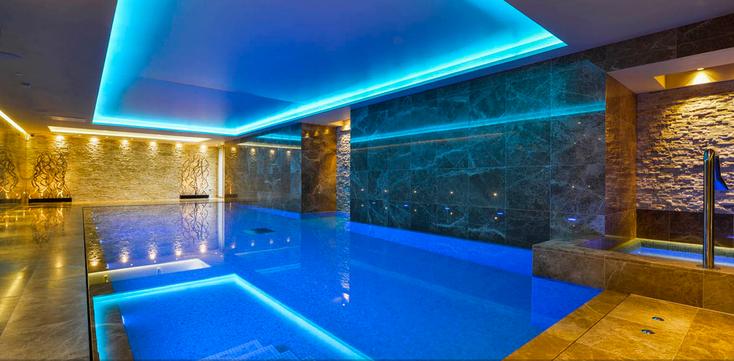 Award winning swimming pool, Cheshire