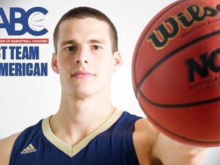 Zimmermann Becomes Bethel's First-Ever NABC First Team All-American