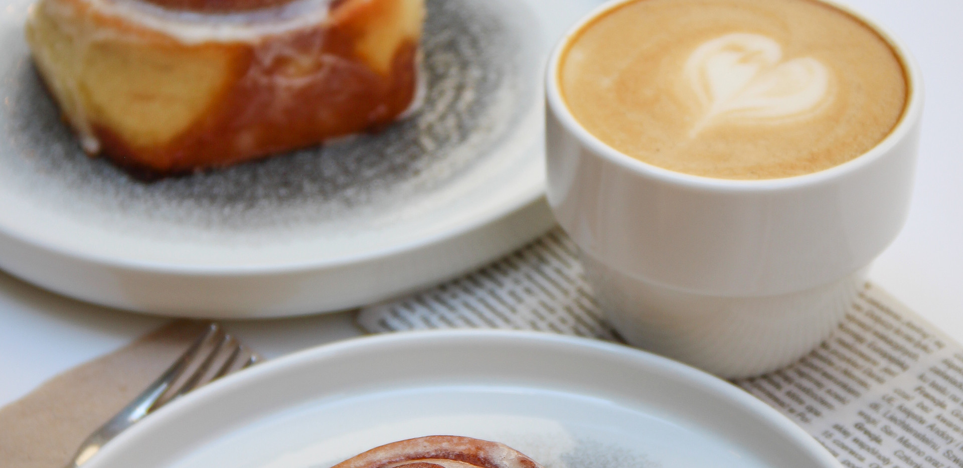 Cinnamon Rolls Coffee