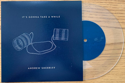 "It's Gonna Take a While -  7"" Lathe Cut Record"