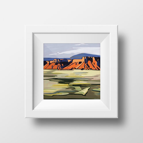 Last Chance: Capitol Reef at Sunset Print