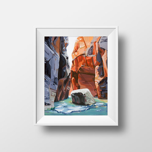 Zion Narrows II -Limited Edition Print