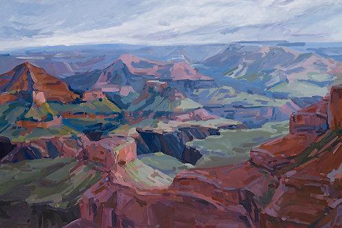 "Grand Canyon, 24""x48"""