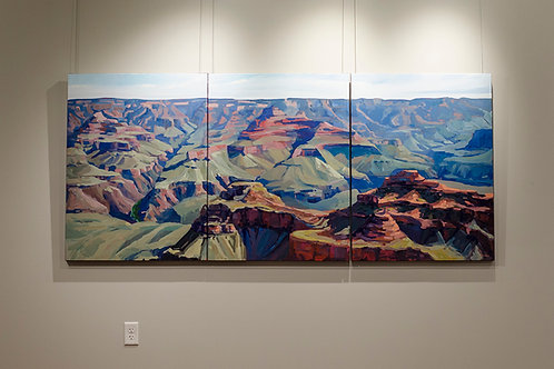 The Grand Canyon (triptych)