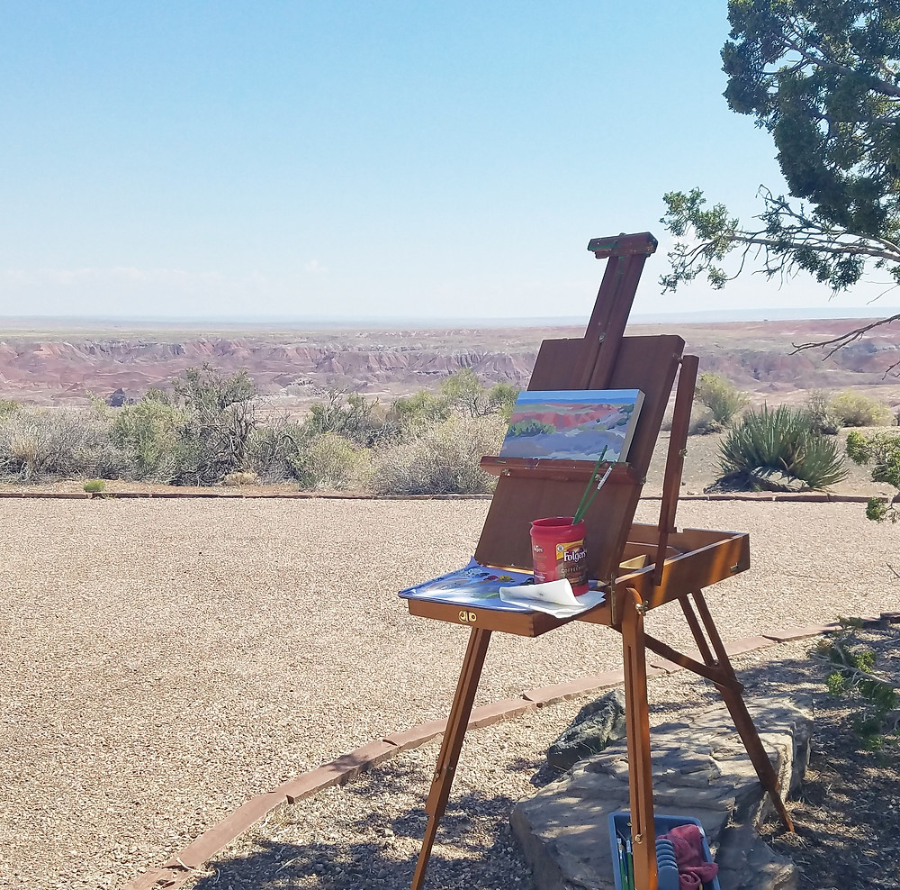 artist in residence petrified forest