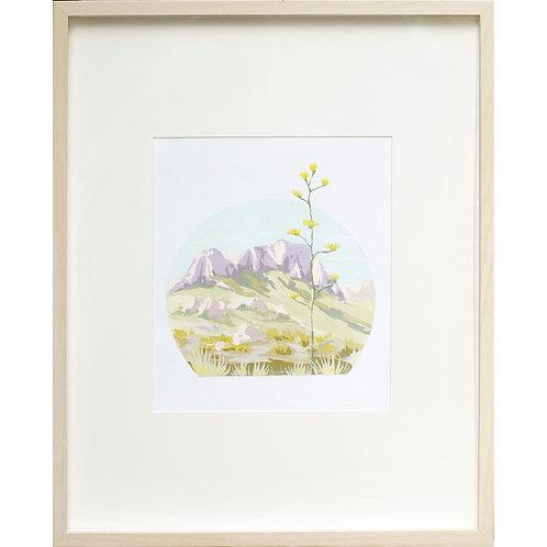 Lone Tree Series: Agave Bloom