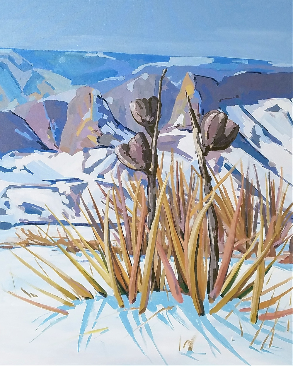 ostrowski yucca painting
