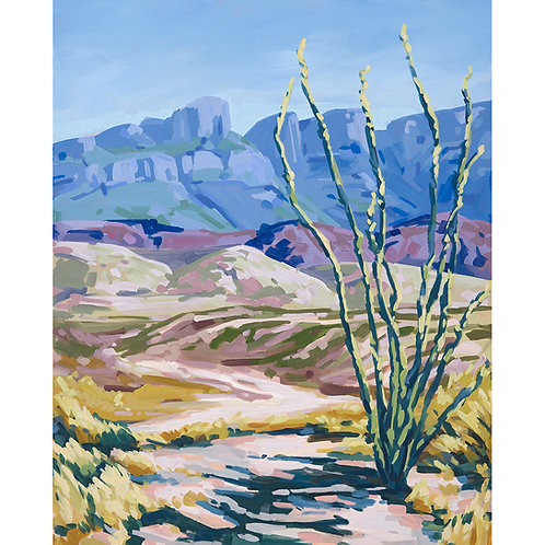 Little Ocotillo Print