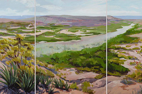 The Big Bend (triptych)