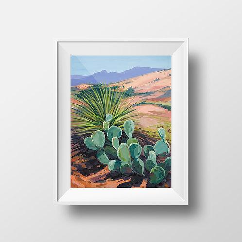 West Texas Summer Print