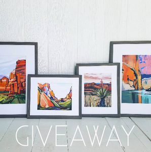art prints southwest giveaway danika ostrowski