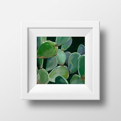 Texas Cactus Print