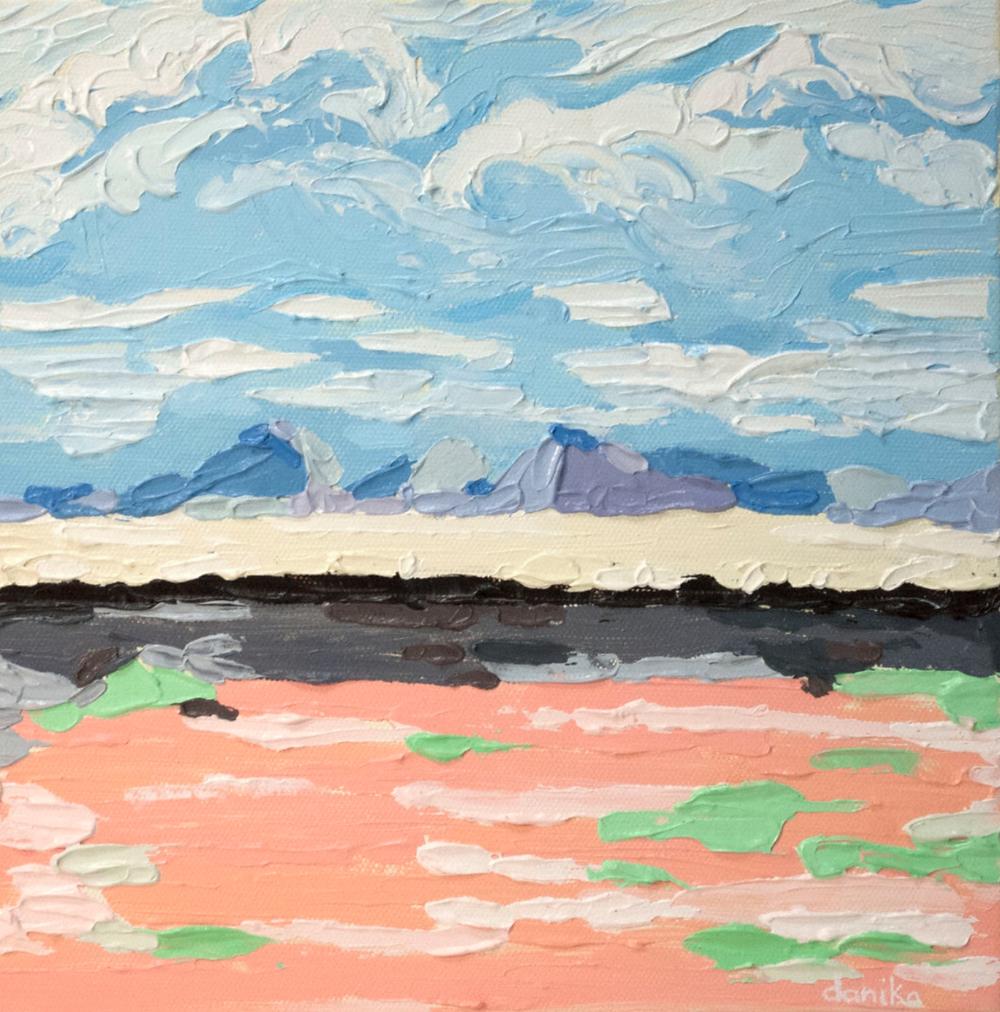 impasto painting danika ostrowski