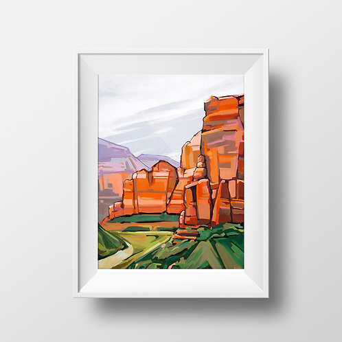 Last Chance: Zion Canyon Print