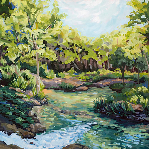 Texas Water Green