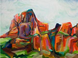 colorful landscape danika ostrowski