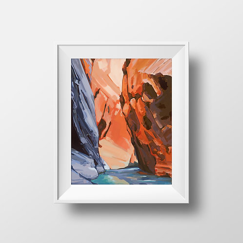 Zion Narrows I - Limited Edition Print