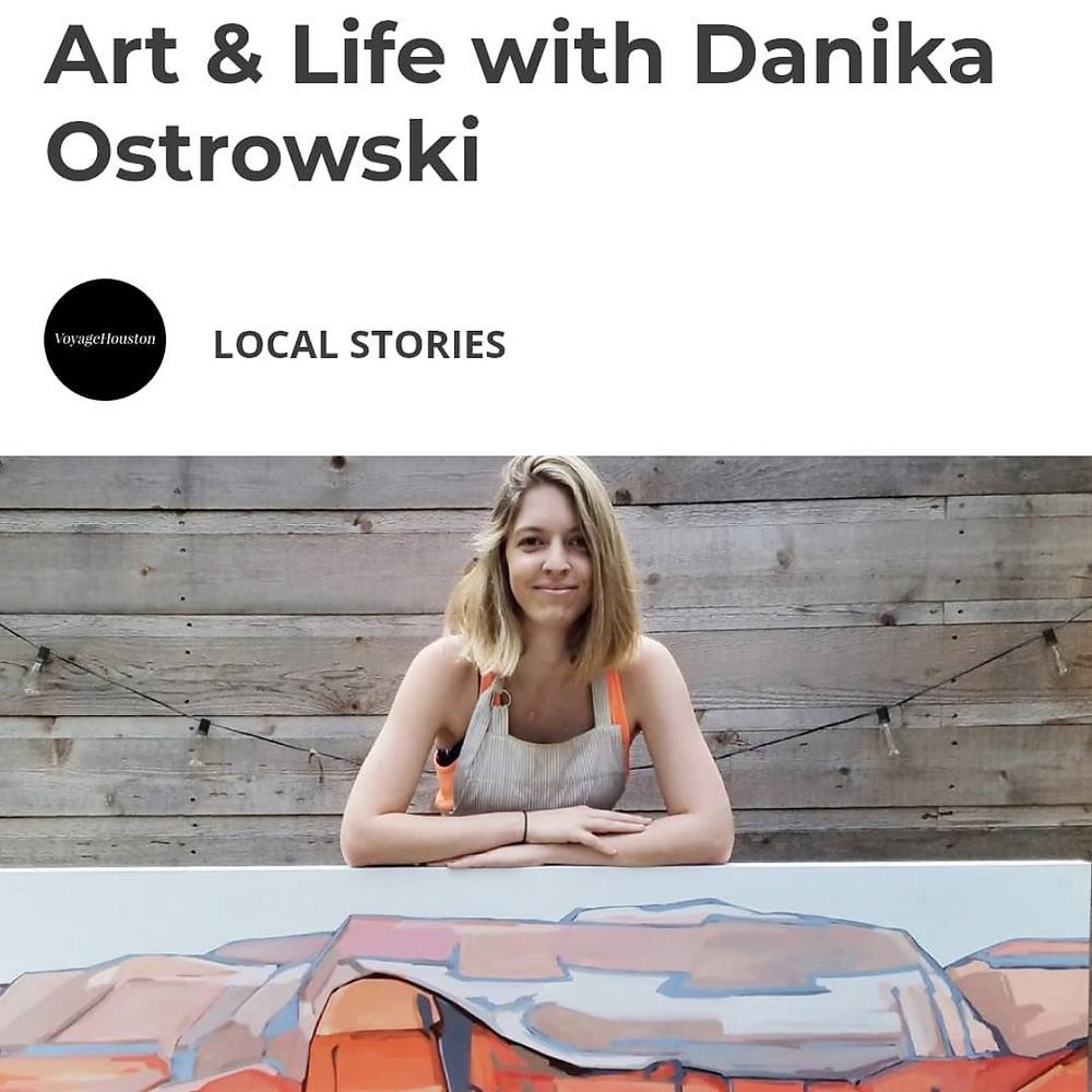 Voyage Houston Artist Danika Ostrowski