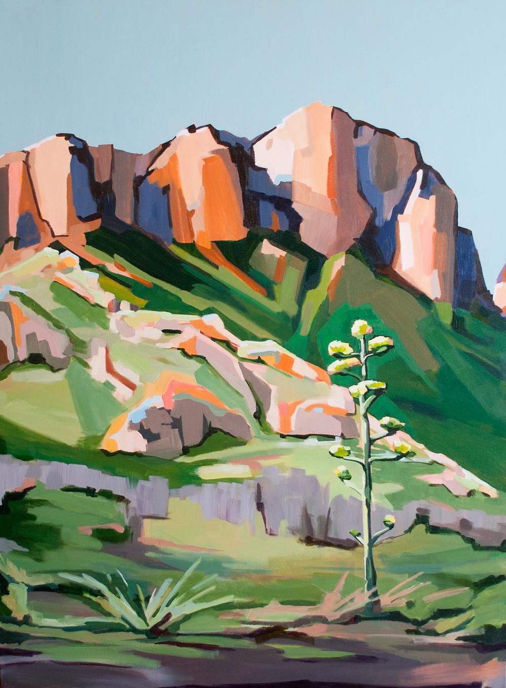 big bend art painting danika ostrowski