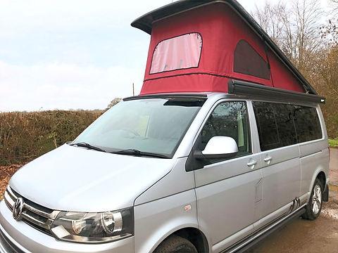 VW T5 Transporter Shuttle LWB car rental spec
