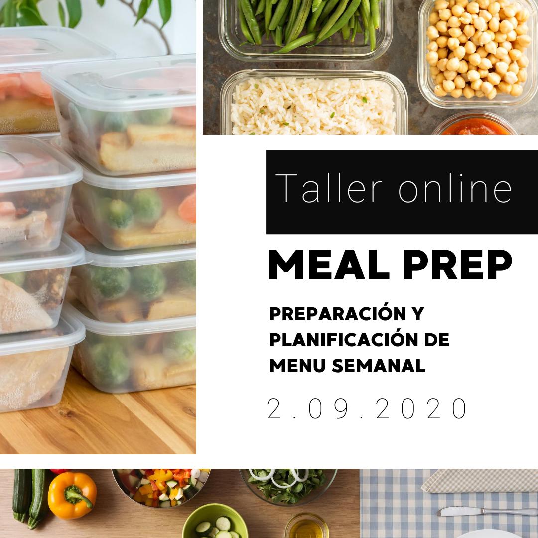 Taller MEAL PREP