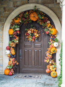 Fall decor also available