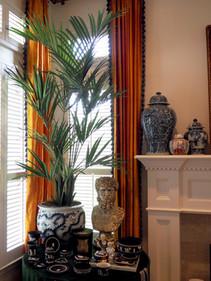 9' Artificial Kentia Palm Tree