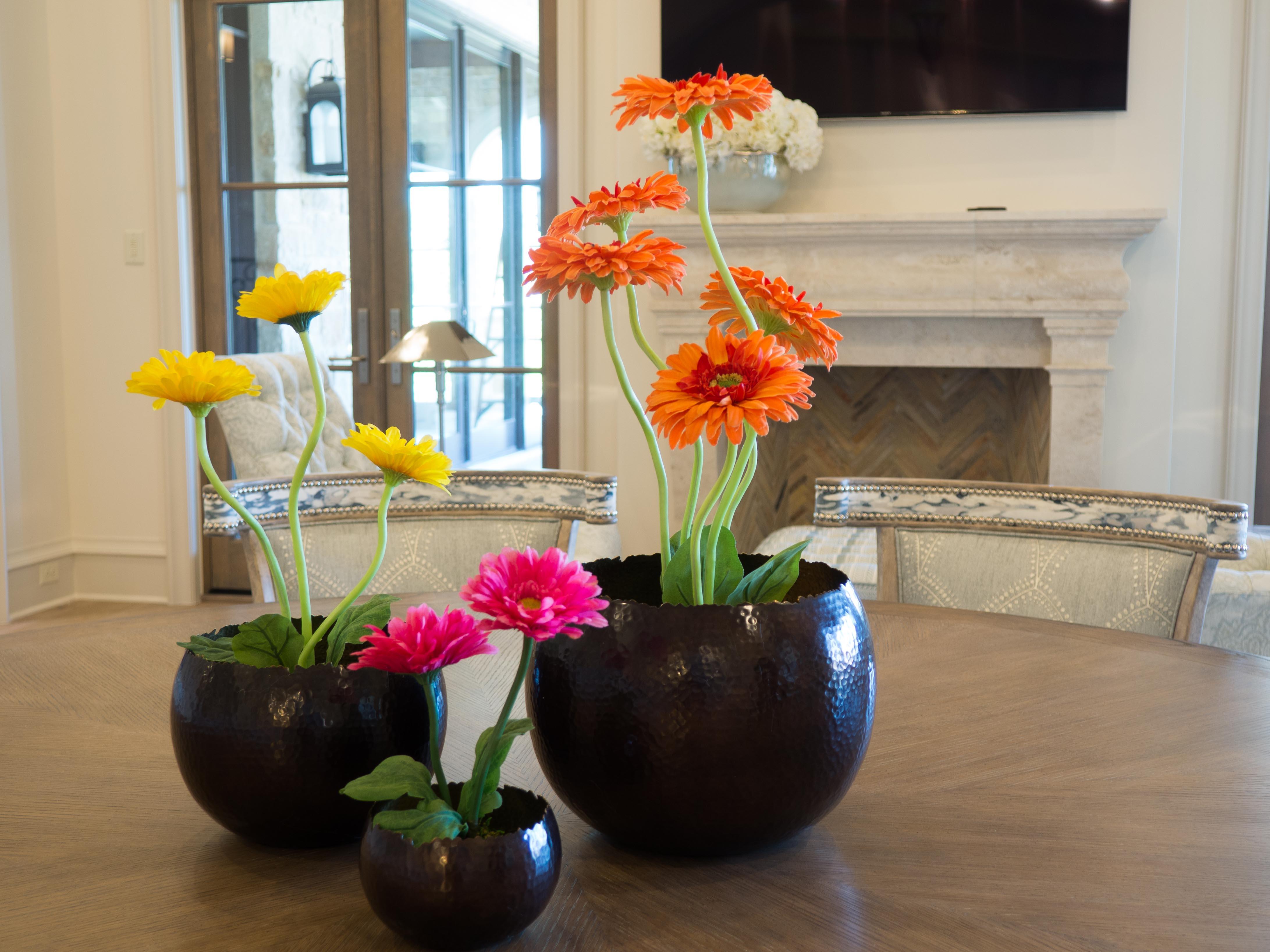 Spring Flowers in Kitchen