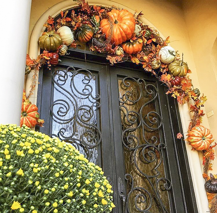 Harvest Front Door Decor