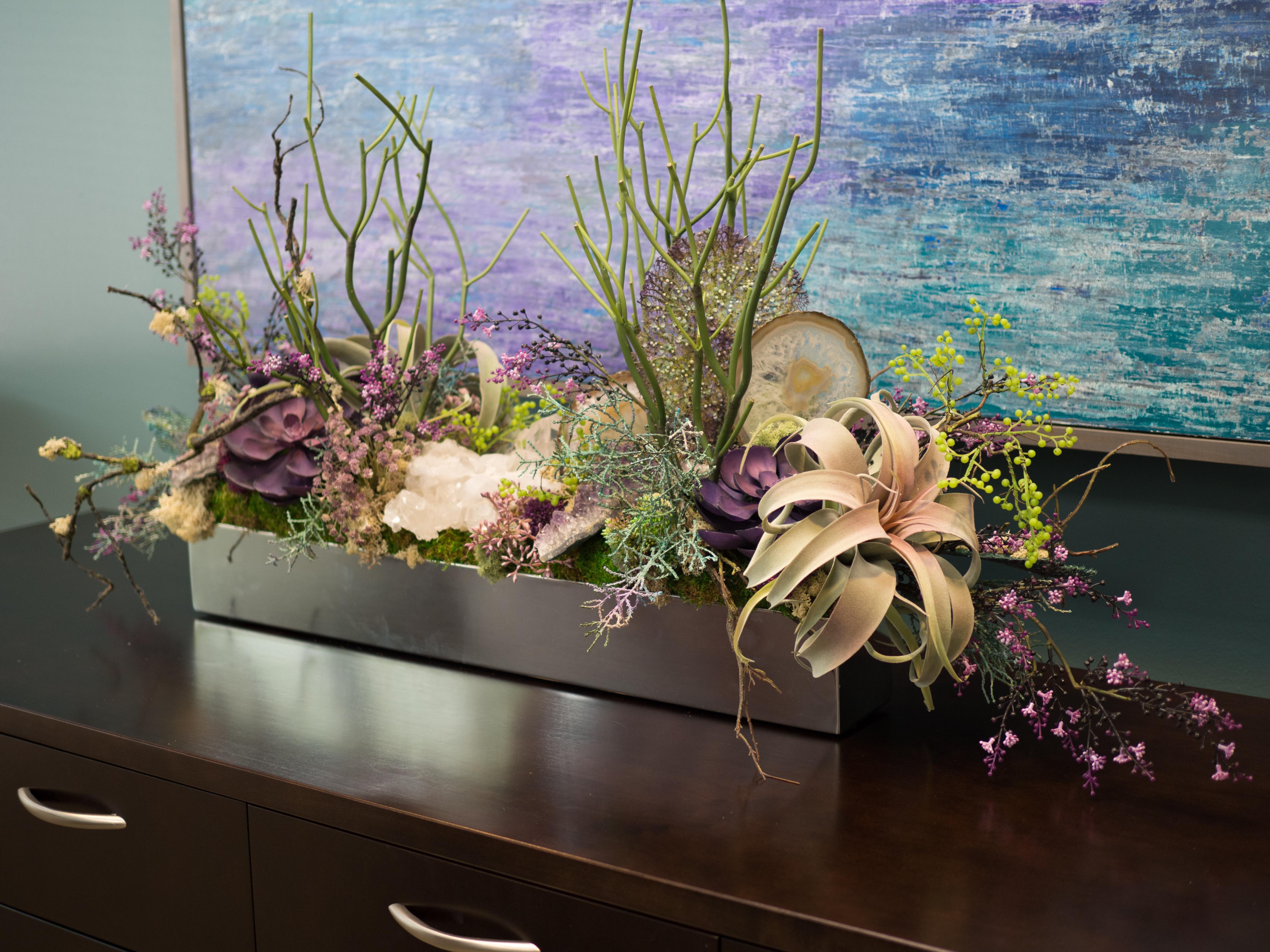 Mixed Succulent Arrangement