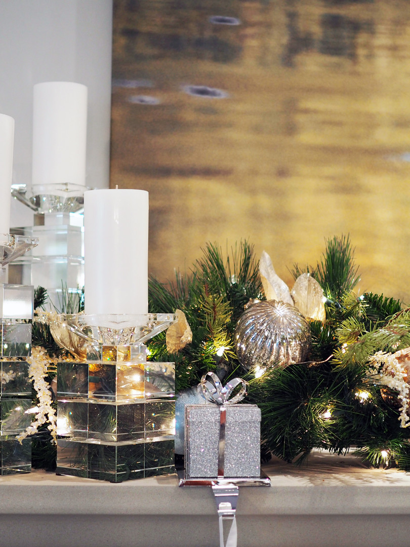 Custom Cristmas Decor to match and accentuate your home